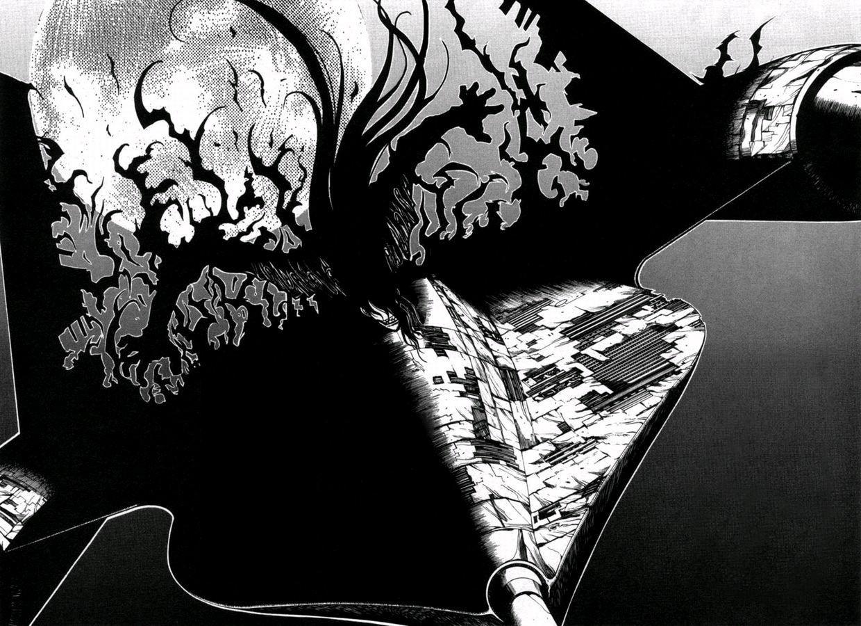 Wallpaper Gambar Ilustrasi Satu Warna Hellsing Alucard