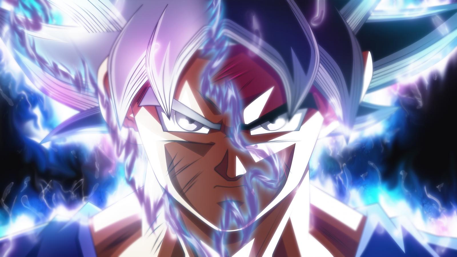 Fond d'écran : Dragon Ball Super, Mastered ultra instinct, Ultra Instinct, Son Goku, rmehedi ...