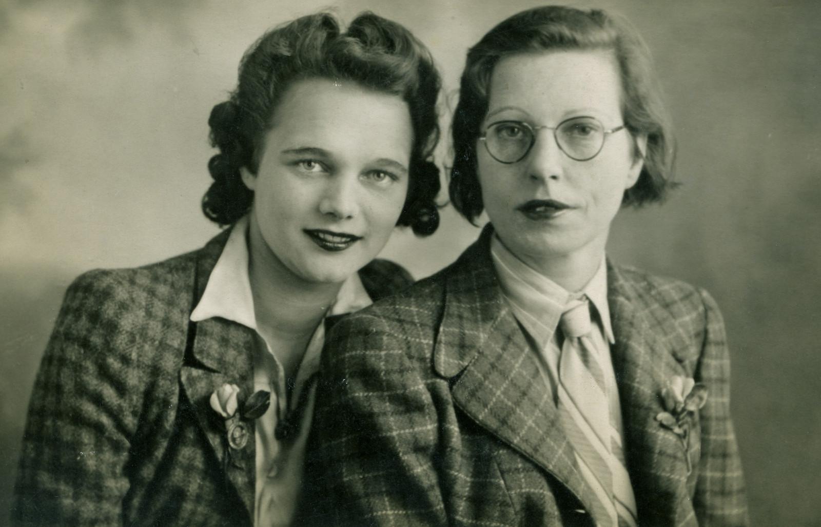 Vintage lesbiche immagini