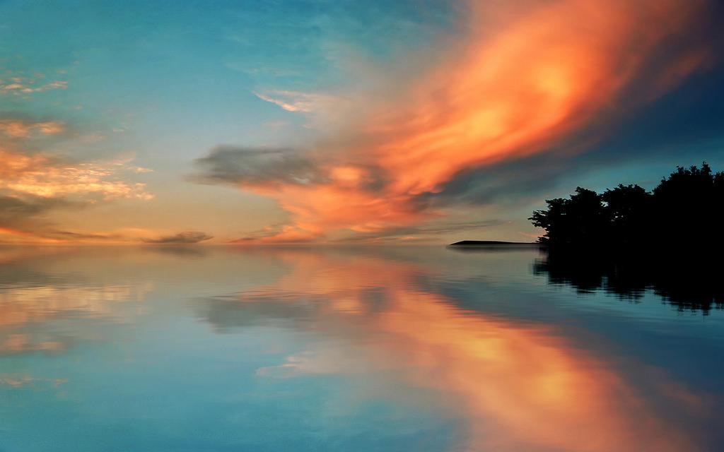 Sfondi Viso Luce Del Sole Paesaggio Tramonto Mare Lago
