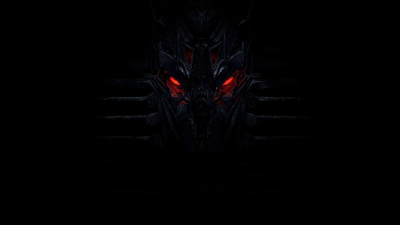 Wallpaper Black Red Eyes Darkness Wing Screenshot