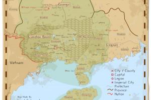 Wallpaper World Map The World Online Light Novel