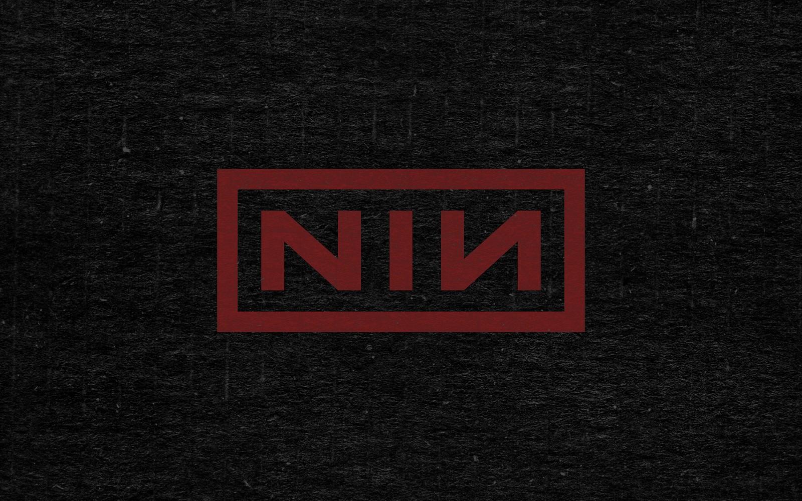 Wallpaper Black T Shirt Text Logo Brand Nine Inch Nails
