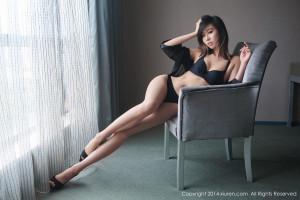 Wallpaper Women Asian Legs Crossed Long Hair Ugirls