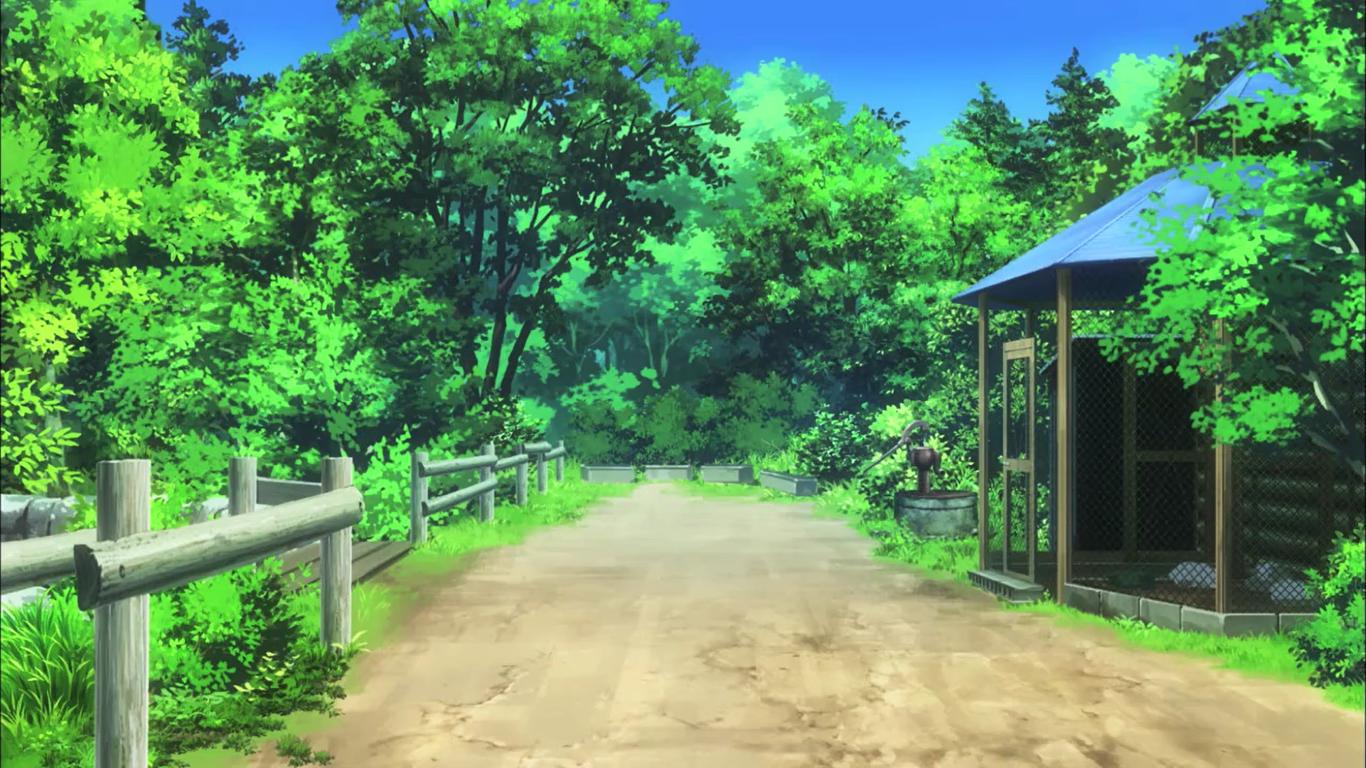 Fond D Ecran Paysage Jardin Anime La Nature Ferme Jungle