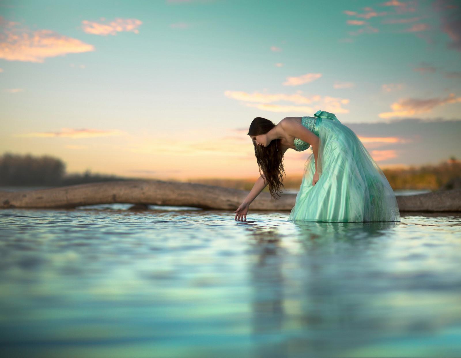 Fondos de pantalla : luz de sol, mujer, modelo, agua