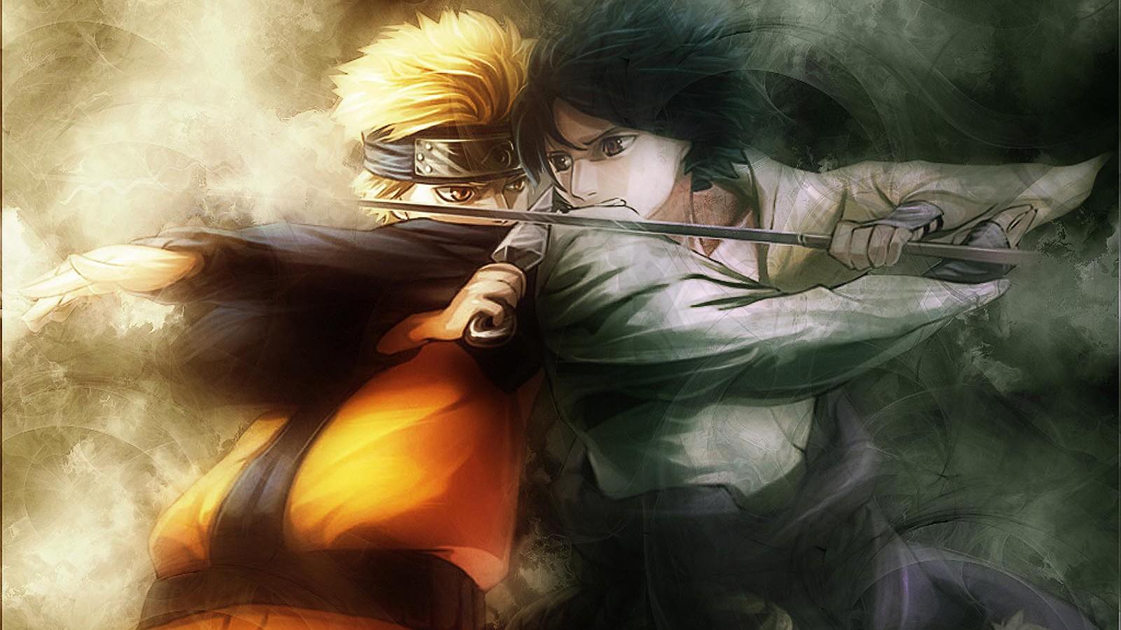 Anime Boys Naruto Shippuuden Uzumaki Uchiha Sasuke Person Mythology Darkness Screenshot Computer Wallpaper Woman