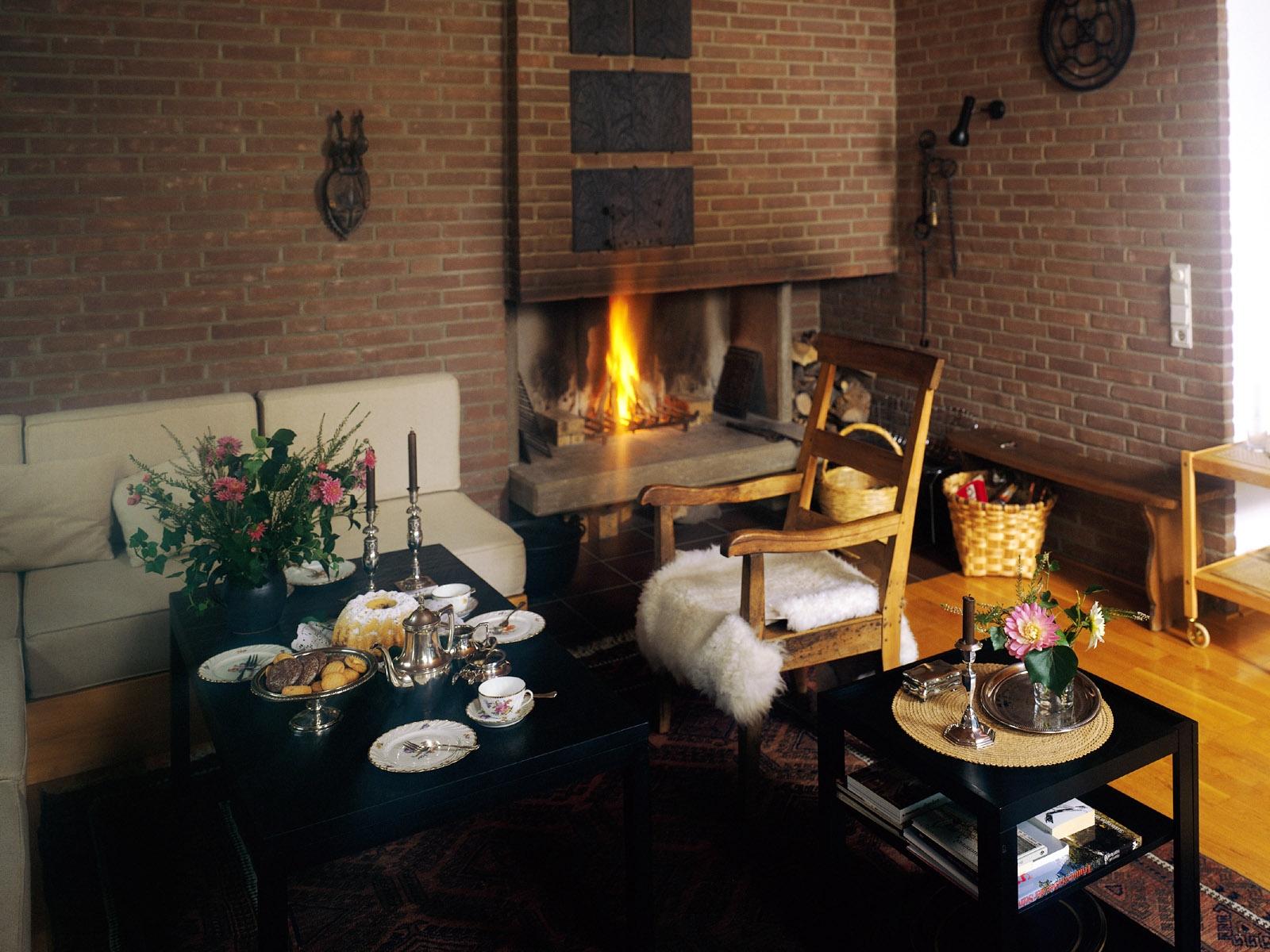 Fond d 39 cran chambre int rieur chemin e design d 39 int rieur chalet biens maison meubles - Cheminee interieur maison ...