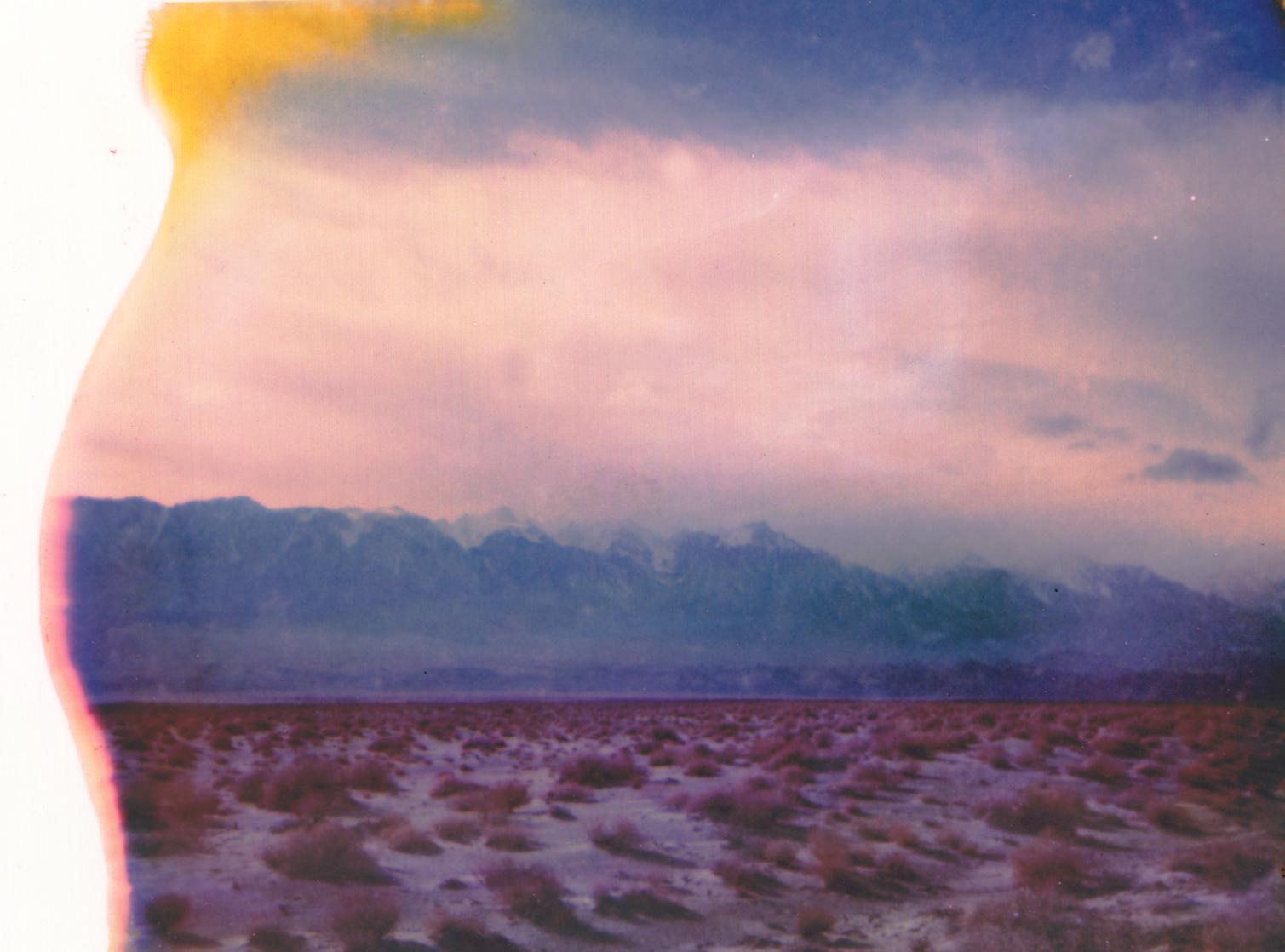 Wallpaper : sky, mountains, clouds, landscape, Polaroid