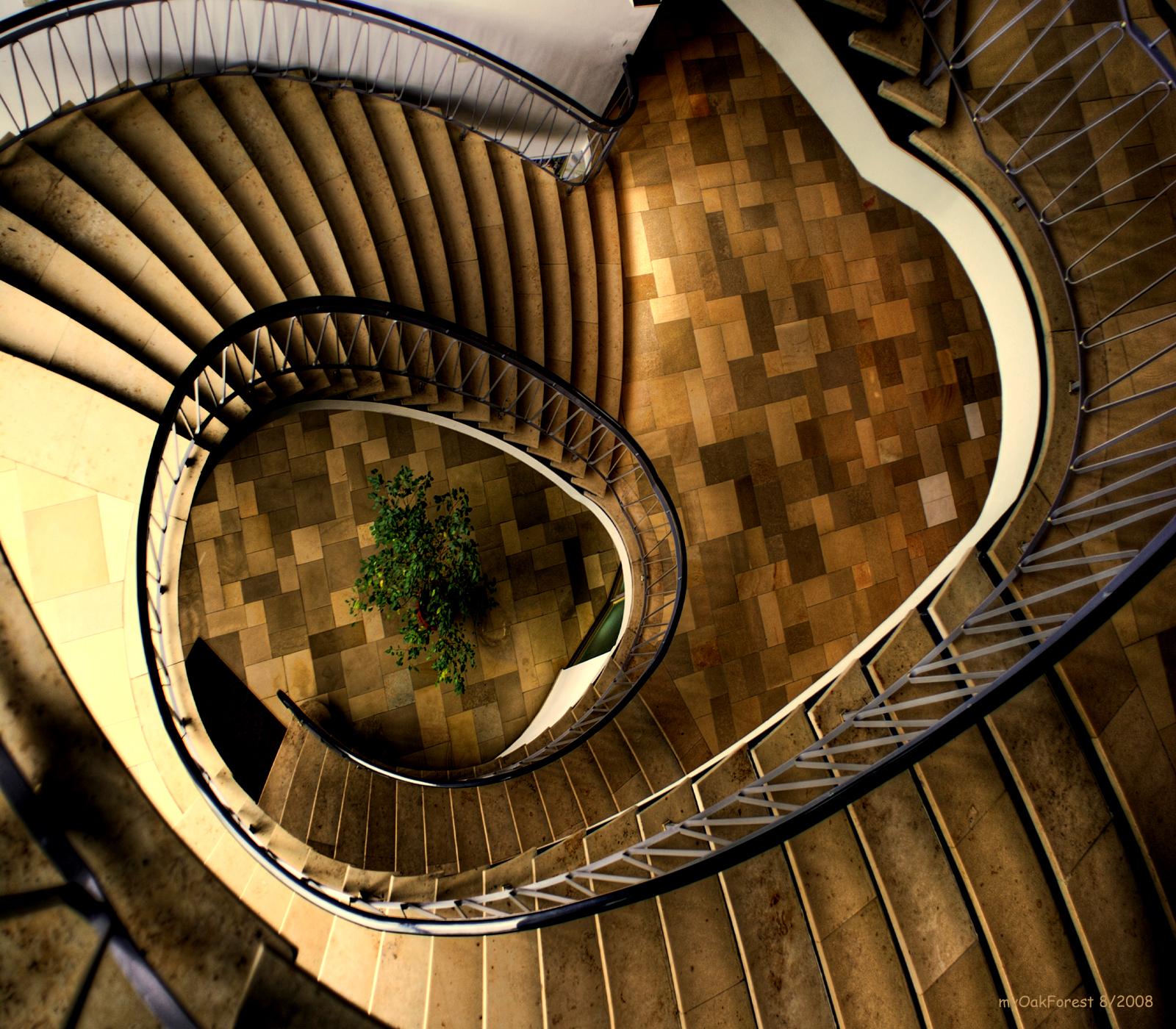 Treppen Kiel wallpaper architecture building spiral symmetry circle arch