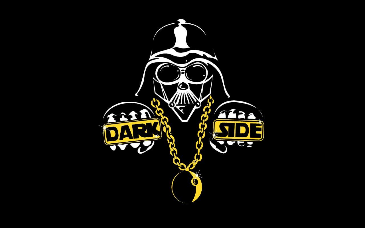 Wallpaper Illustration Star Wars Black Background Logo Darth