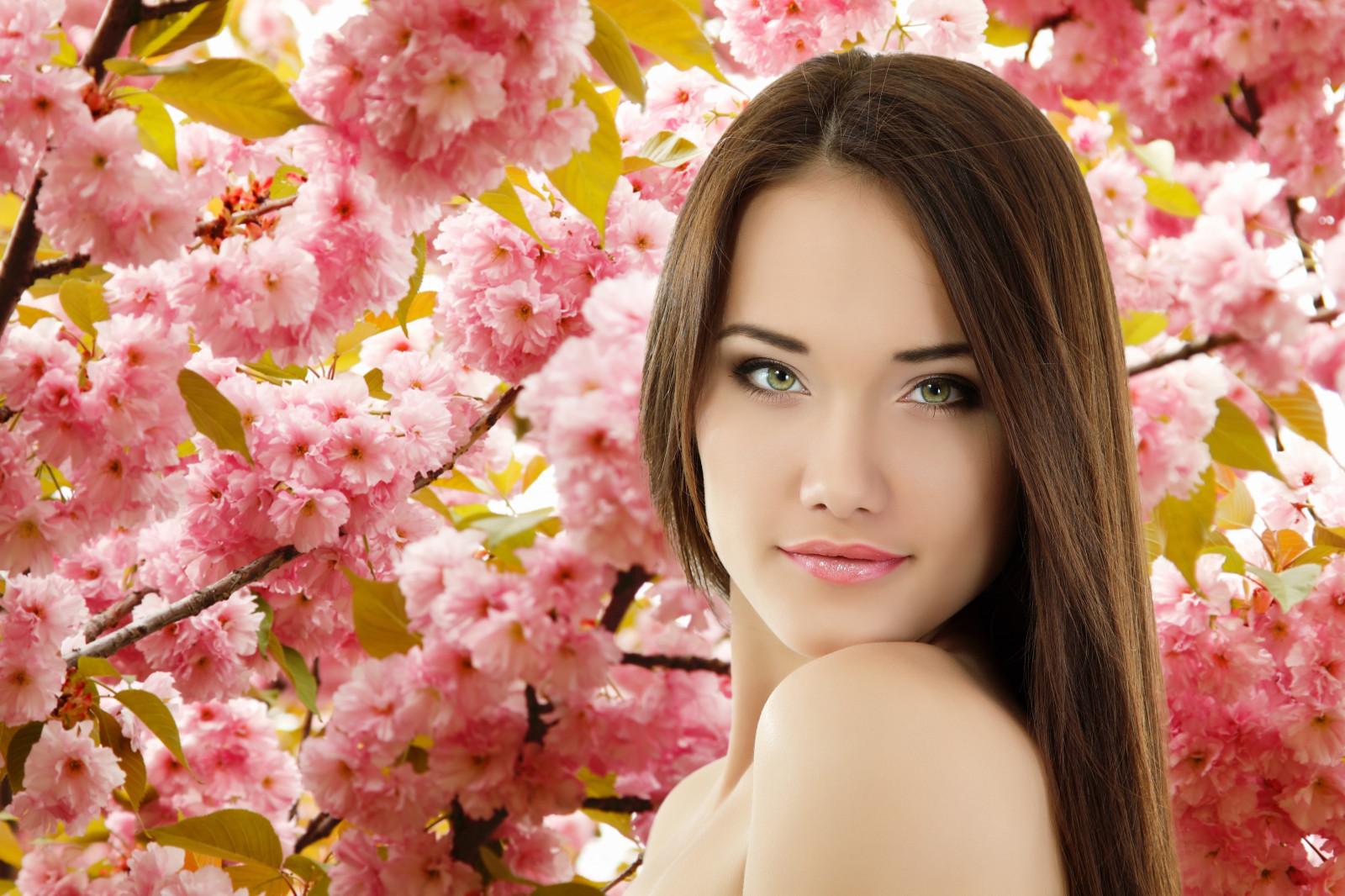 Весна девушки картинки на рабочий стол, при рождении девочки