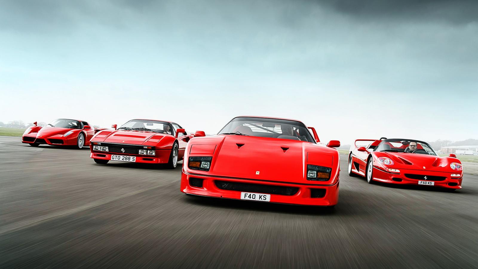 デスクトップ壁紙 赤い車 スポーツカー フェラーリf430 フェラーリf40 フェラーリエンツォ パフォーマンスカー フェラーリf50 フェラーリ2 Gto スーパーカー 陸上車両 自動車デザイン レースカー 自動車メーカー 高級車 フェラーリスパ 19x1080