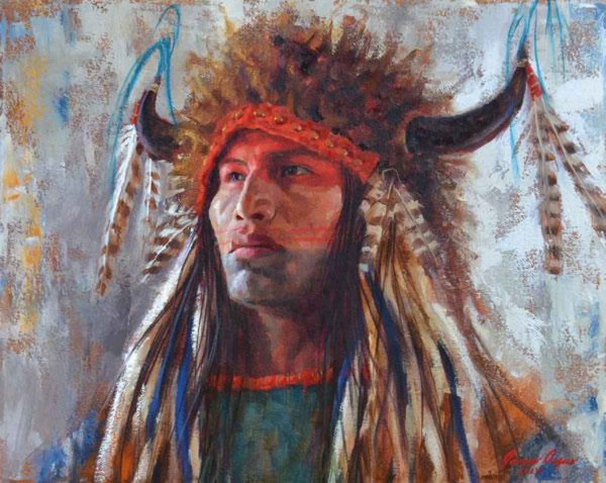 Pittura Moderna Americana.Sfondi Uomini La Pittura Ritratto Opera D Arte