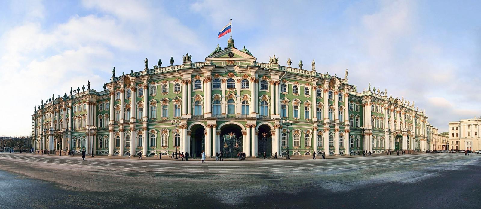 Baggrunde Hermitage Vinterpaladset Sankt Petersborg 2639x1149