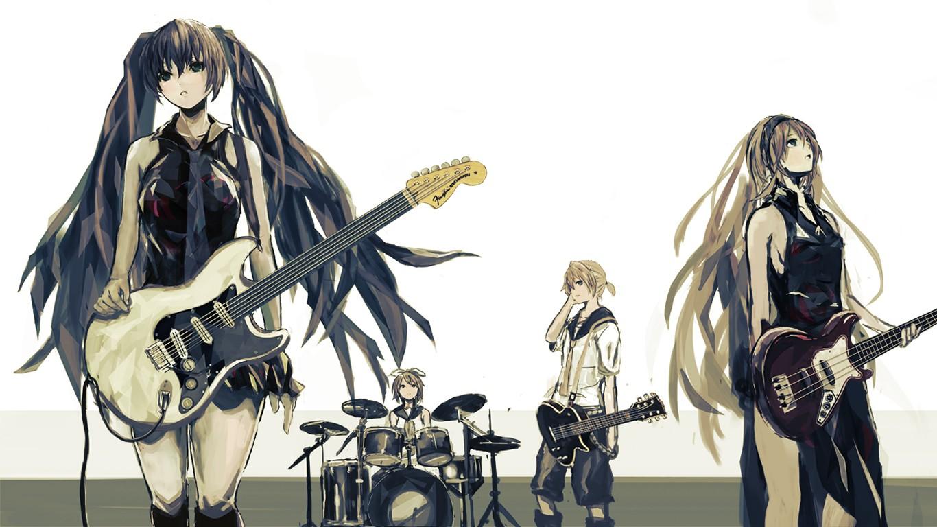 Fondos De Pantalla Ilustración Anime Dibujos Animados Vocaloid
