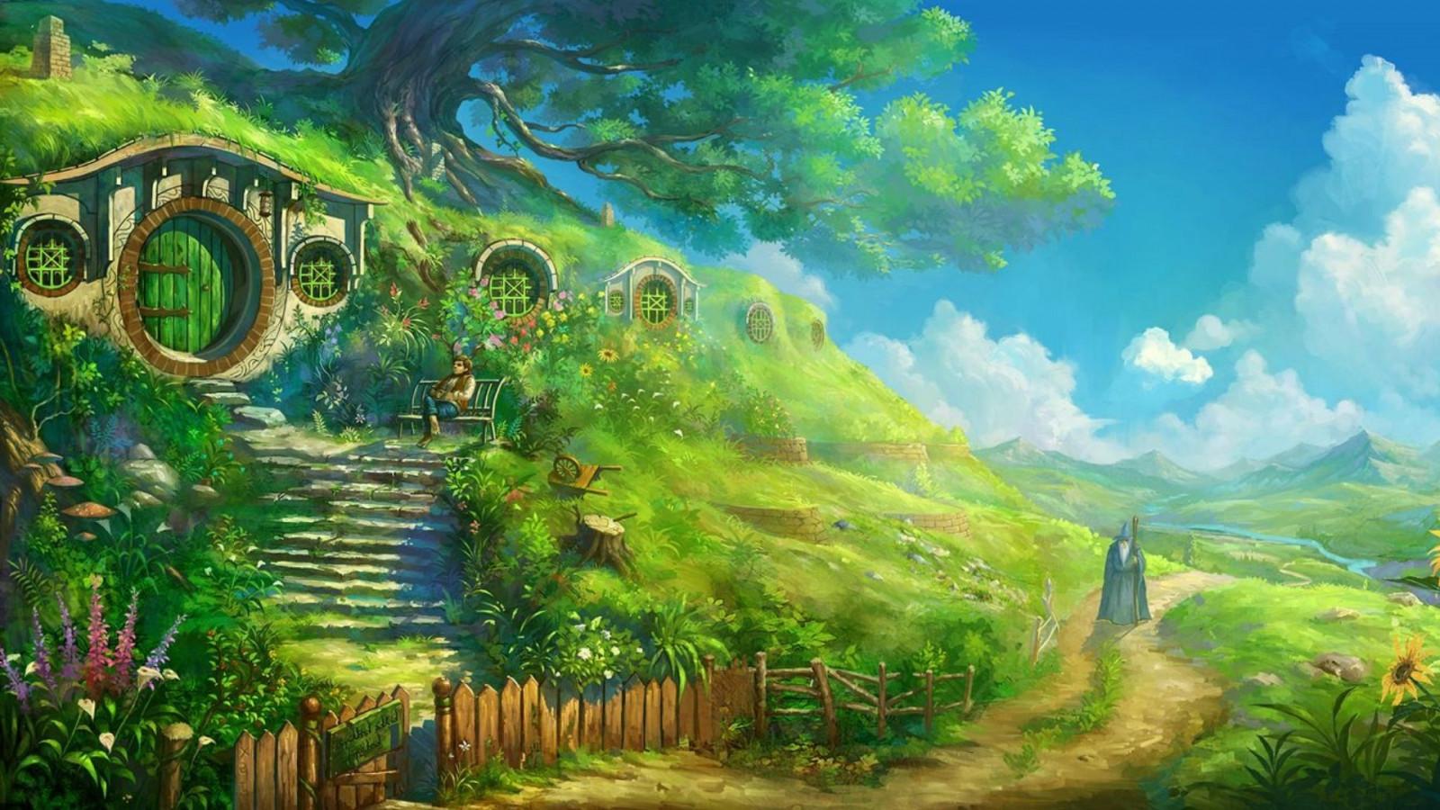 1920x1080_px_artwork_Bag_End_Bilbo_Baggins_gandalf_Hobbits_path_The_Lord_Of_The_Rings-665262.jpg!d