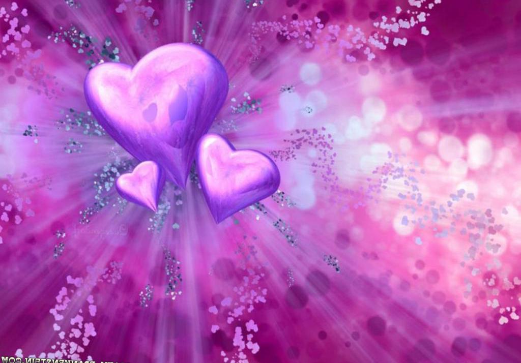 Sfondi Illustrazione Amore Cuore Cielo Fiorire San Valentino