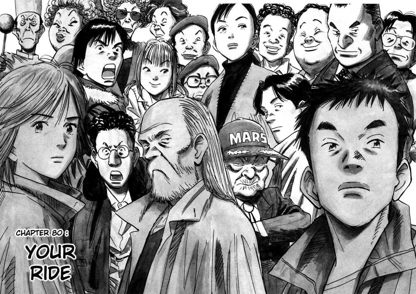 Wallpaper : drawing, people, illustration, cartoon, Naoki Urasawa