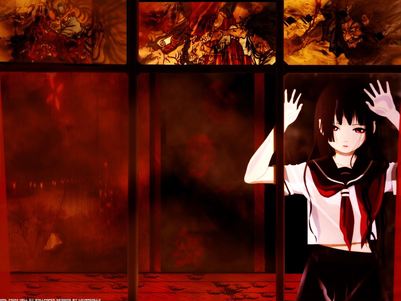 Sfondi Finestra Anime Girls Sfondo Rosso Uniforme Scolastica Jigoku Shoujo Enma Ai Immagine Dello Schermo Sfondo Del Computer 1600x1200 Buran1997 194299 Sfondi Gratis Wallhere