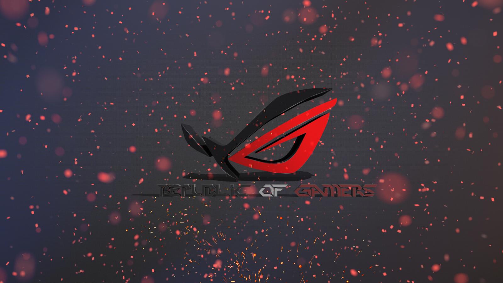 Illustration Heart Red Republic Of Gamers ASUS Darkness Screenshot Computer Wallpaper Font