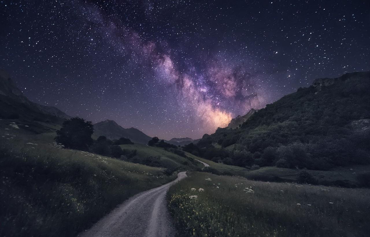 настолько дорога и звездное небо фото для