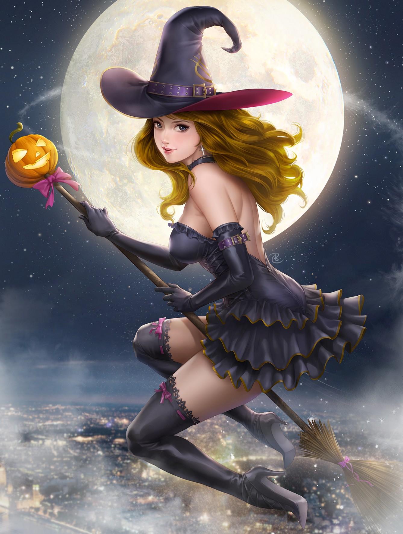 Картинки красивых ведьмочек, днем недели