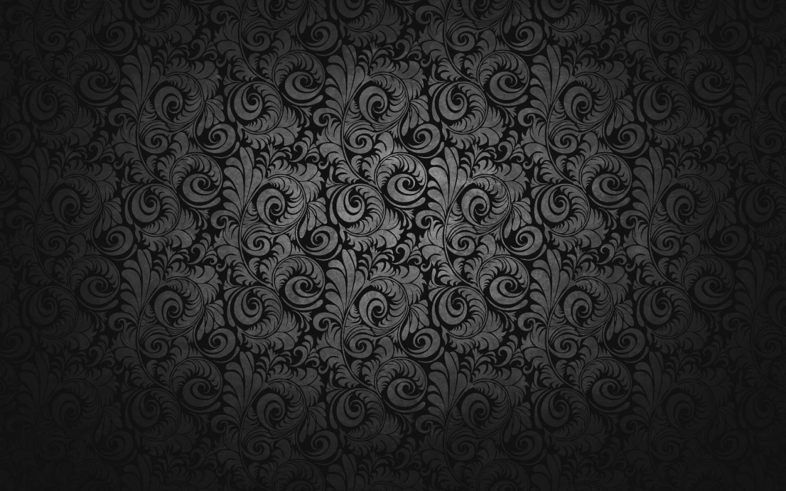 Wallpaper Satu Warna Gelap Simetri Pola Tekstur Lingkaran