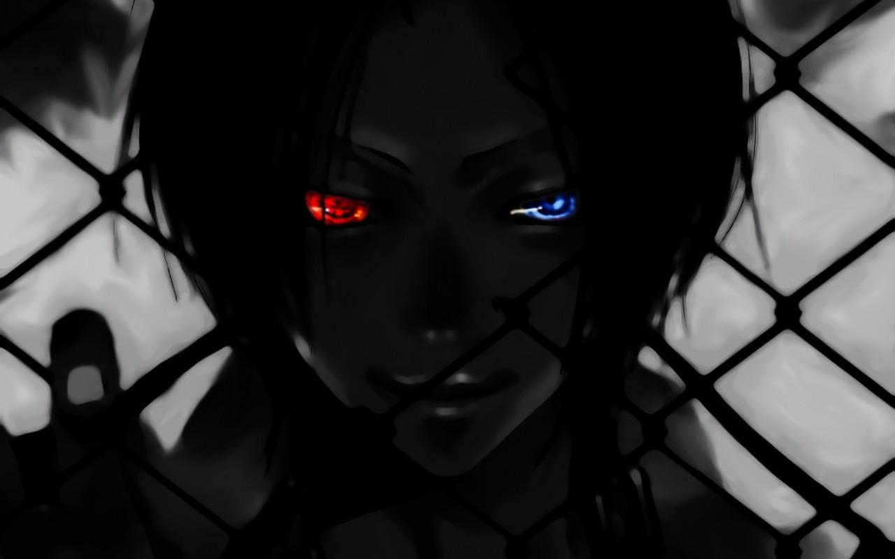 デスクトップ壁紙 アニメ 青い目 赤い目 家庭教師ヒットマン