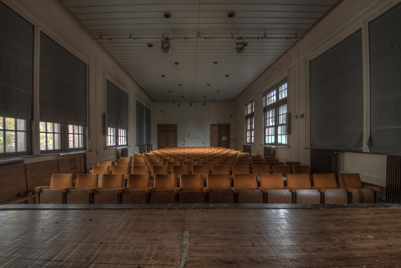 Hintergrundbilder  die Architektur, Auditorium, Innenarchitektur ...