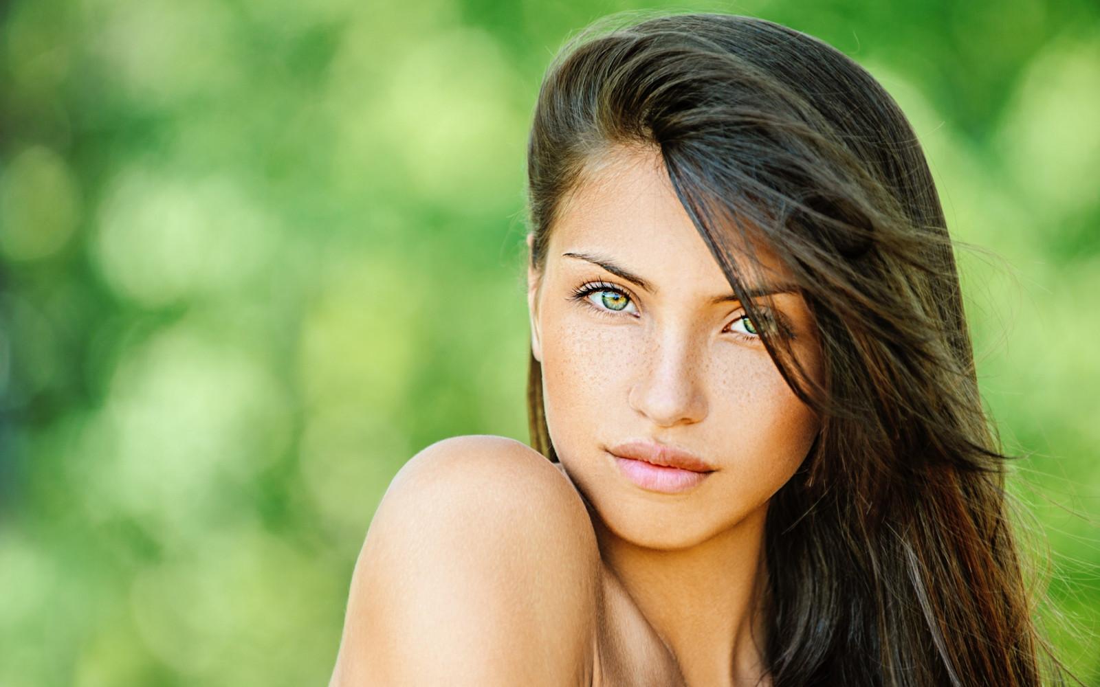 Wallpaper : face, women outdoors, model, long hair