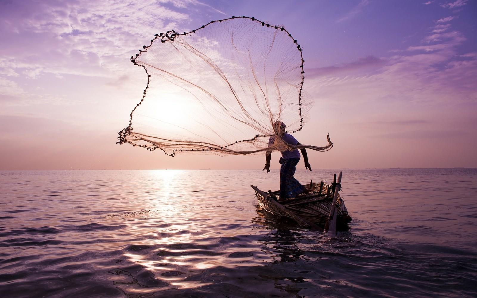 Sports Landscape Boat Sunset Sea Water Nature Clouds Sunrise Evening Mist Horizon Nests Dusk Fishing Fisherman