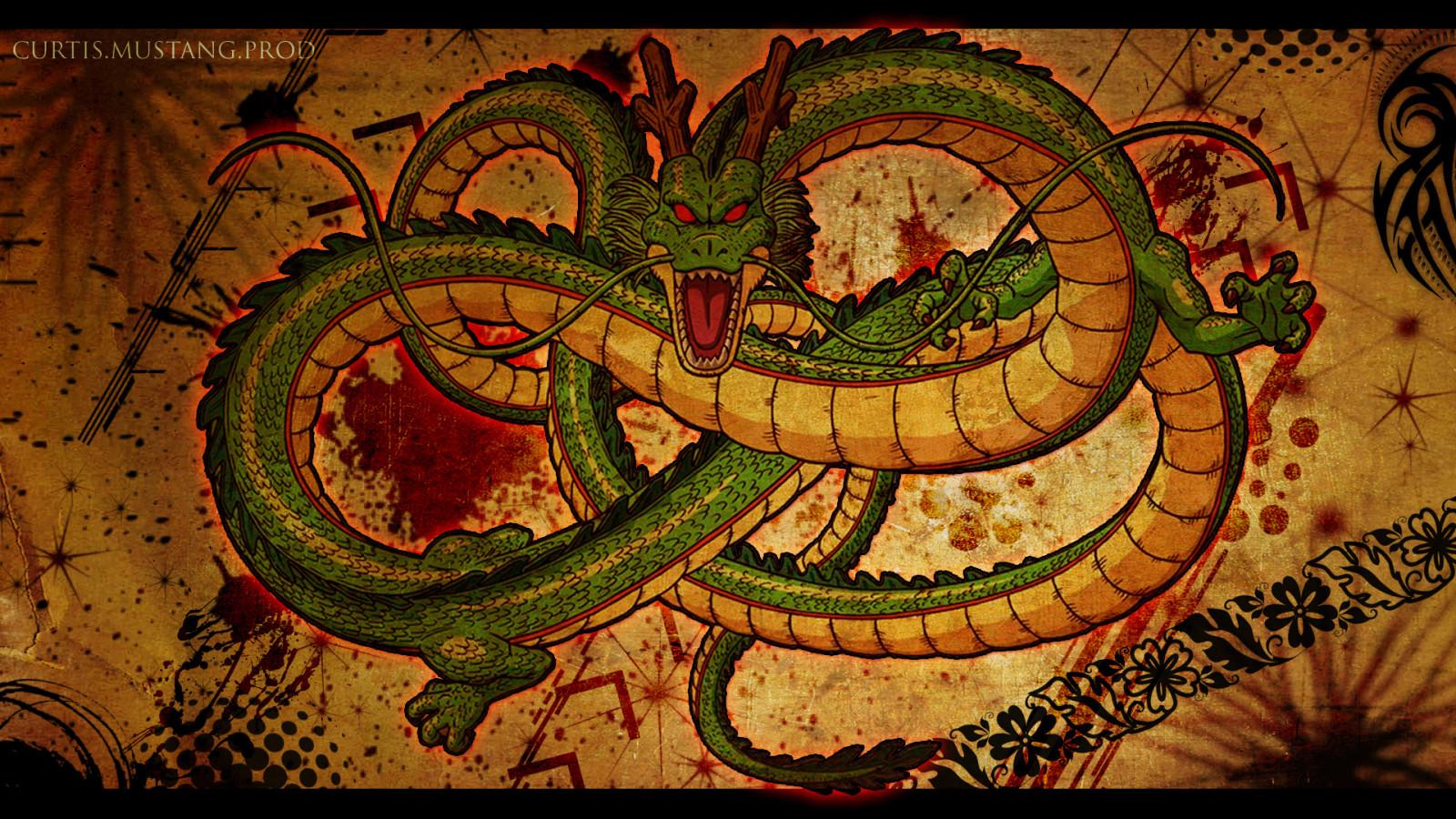 ドラゴンボール神龍の壁紙