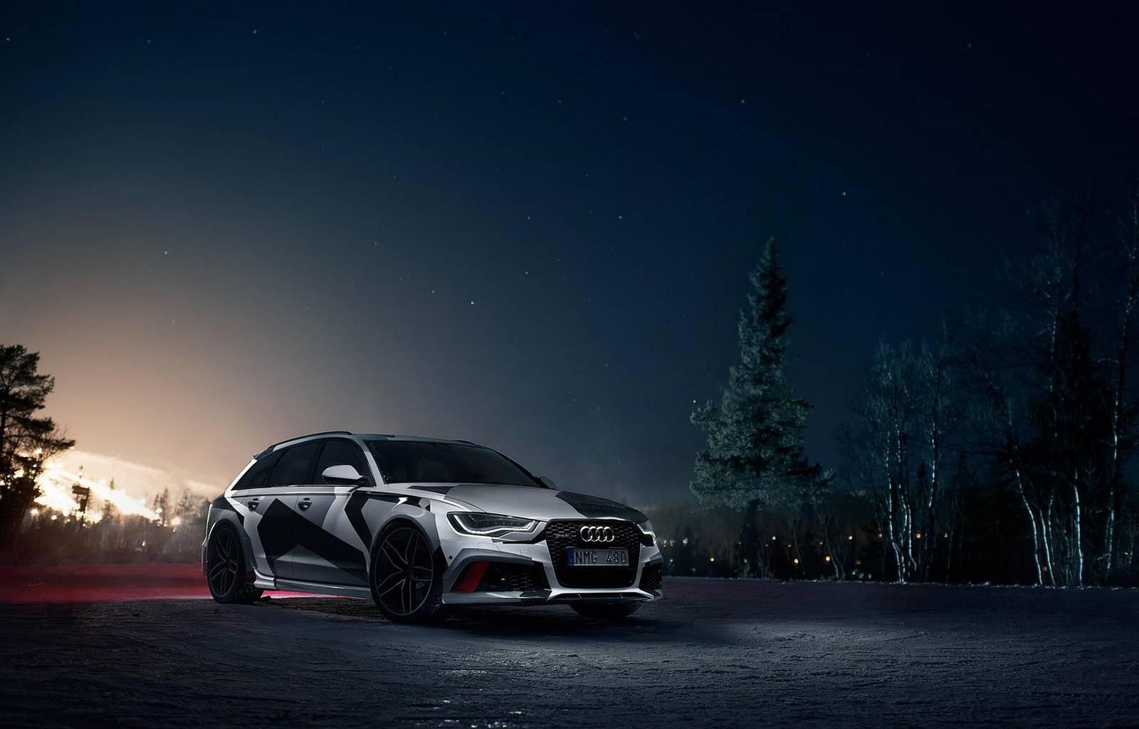 Fond D 233 Cran Nuit V 233 Hicule Audi Quattro Quattro