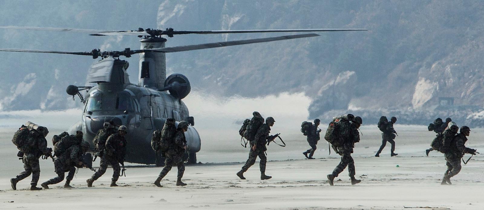 Südkorea Streitkräfte