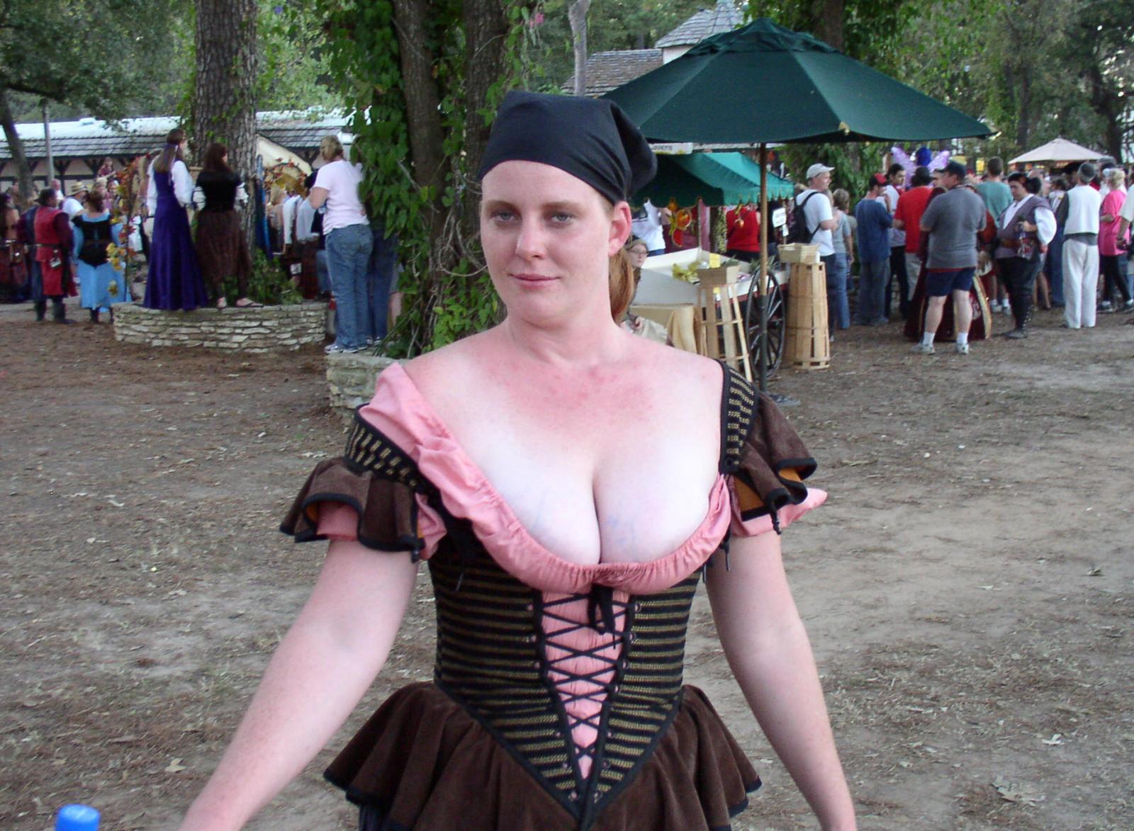 Renaissance fair nipples, gy style puss ass sex
