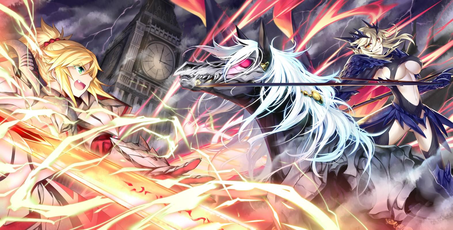 Wallpaper Anime Horse Sword Saber Fate Grand Order Fate