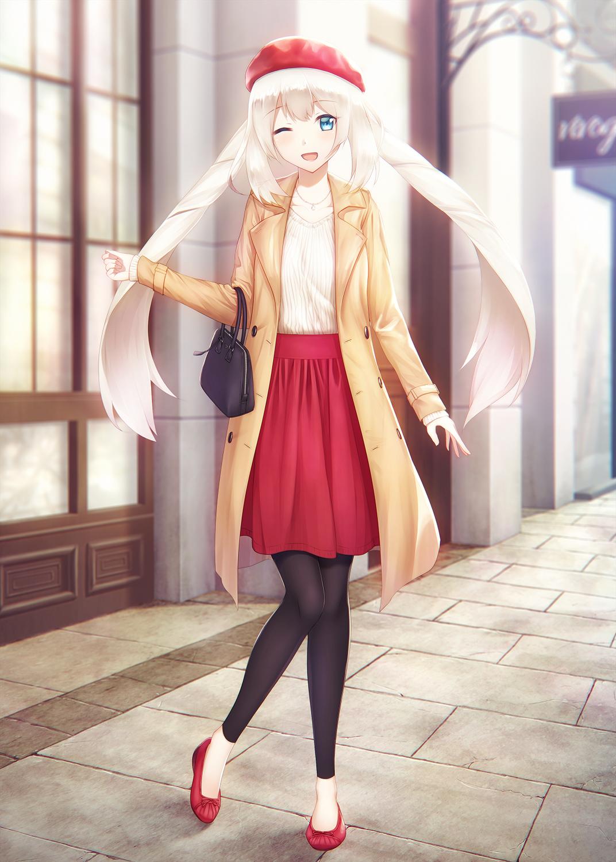 Фото длинные волосы белые