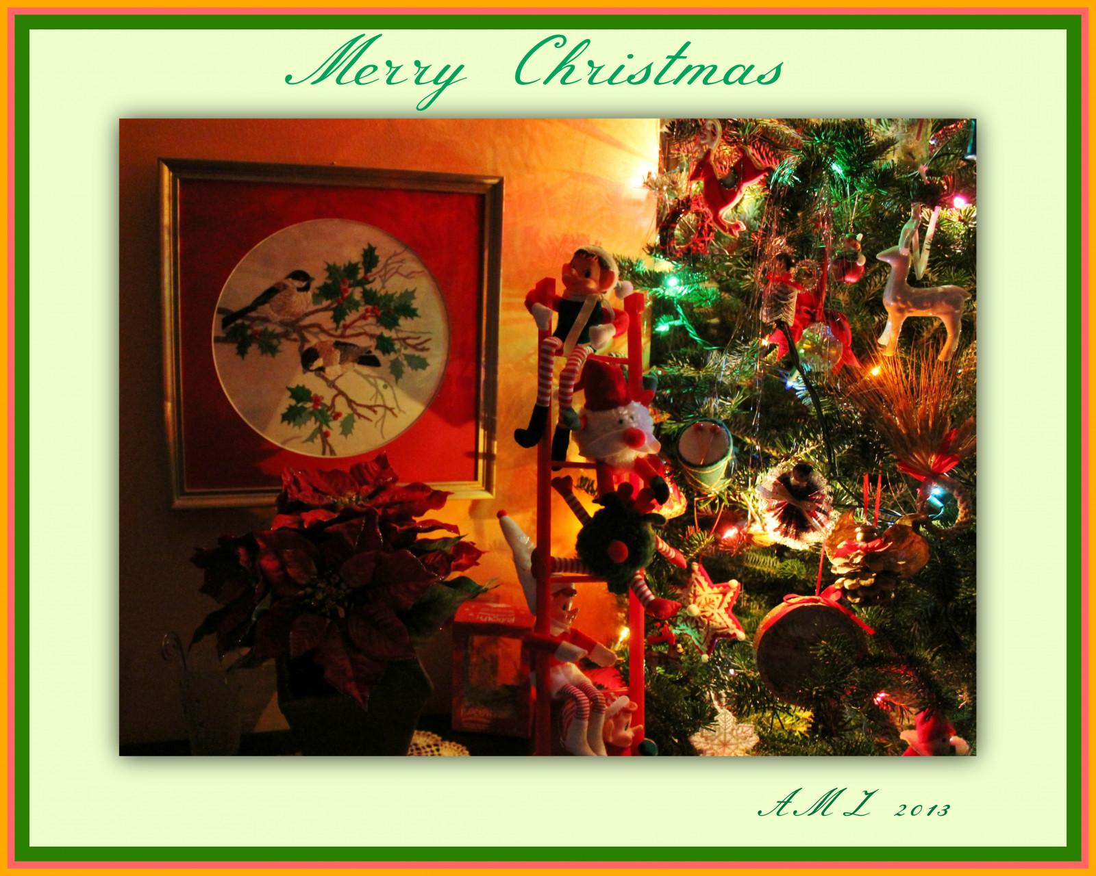 Fondos de pantalla : luces, Elfos, marco, fiesta, Decoraciones ...