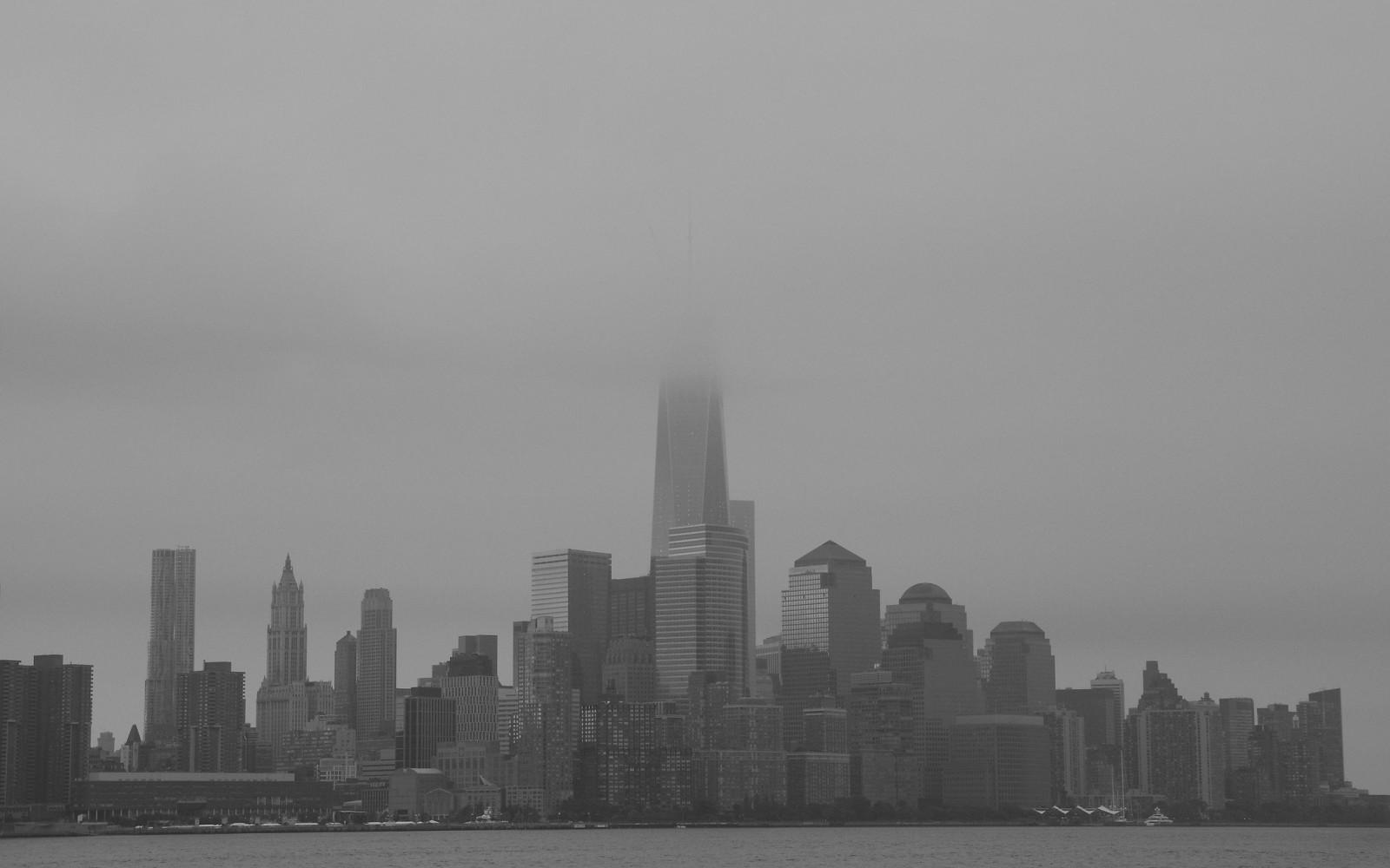 Wallpaper 2048x1280 Px Building City Mist Monochrome