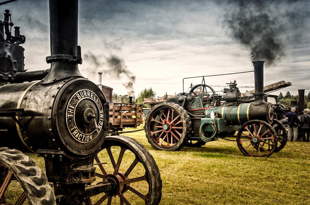 Hintergrundbilder : Traktionsmotor, Burrell, Dampfmaschine ...