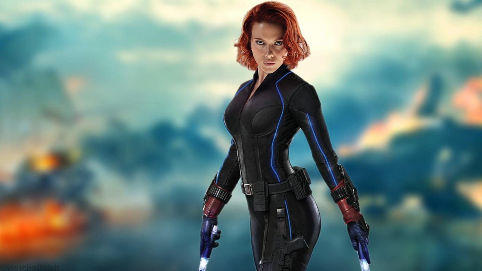 Wallpaper Women Redhead Photography Blue The Avengers Scarlett Johansson Black Widow Age Of Ultron Screenshot Computer
