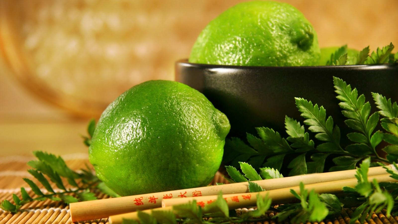 food, fruit, green, lime, limes, citrus, chopstick, plant, 1920x1080 px, produce, land plant, flowering plant, key lime