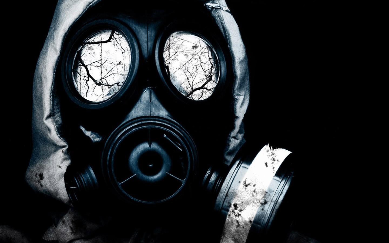 Wallpaper : abstract, gas masks, radioactive, clothing