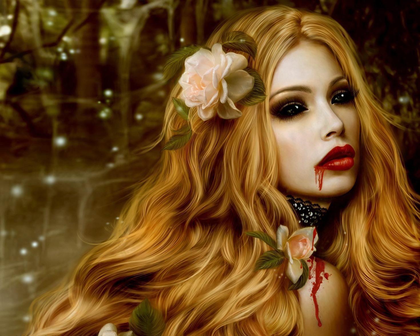 Haare vampir frisuren