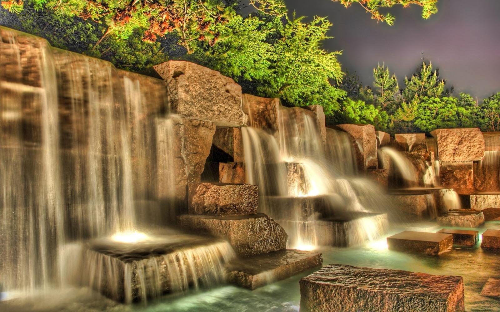 обои 3d на рабочий стол водопады № 469286 без смс