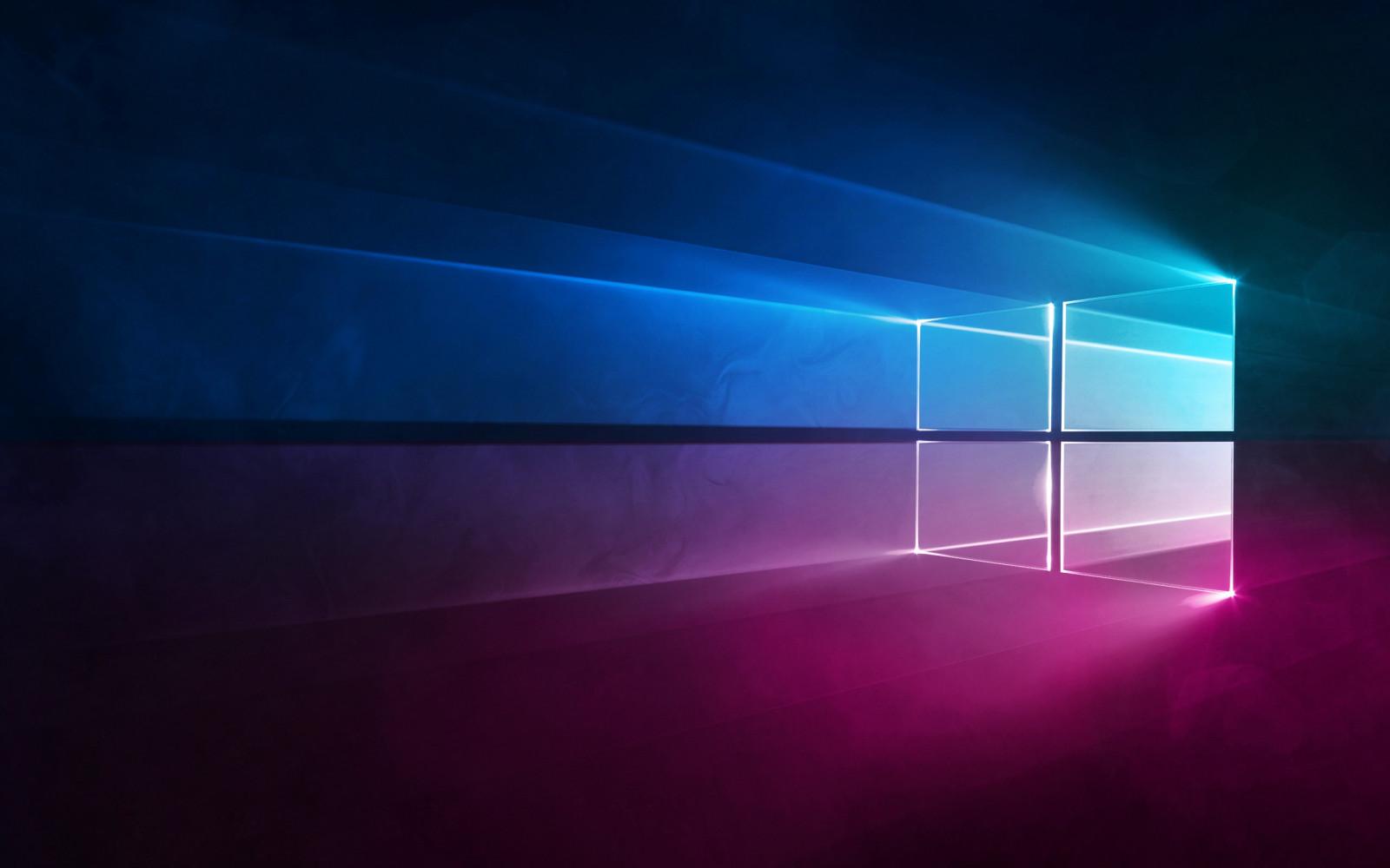 Wallpaper : Windows 10, Microsoft, gradient, blue, purple ...