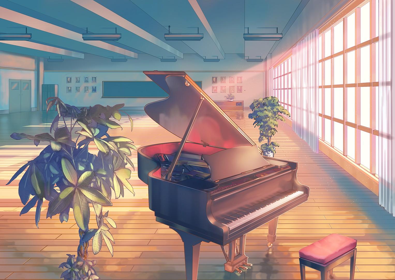 картинки для класса фортепиано котенок кексиком