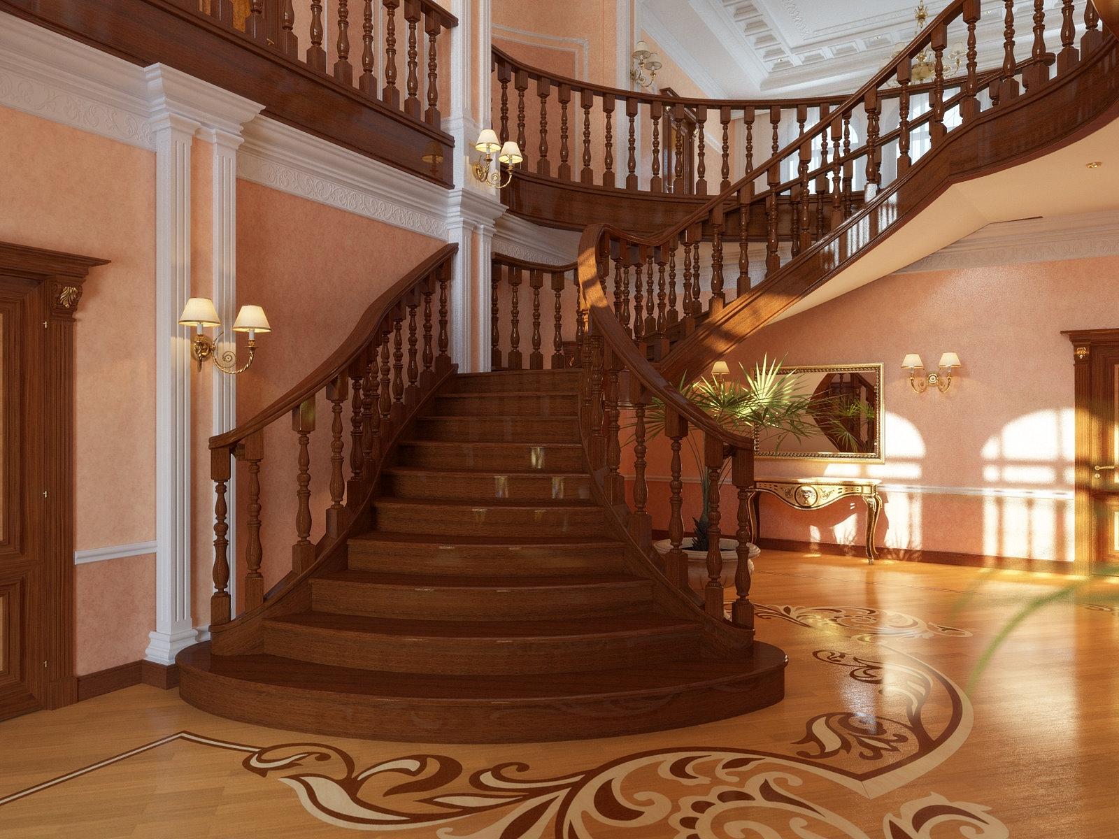 Красивые лестницы интерьер фото