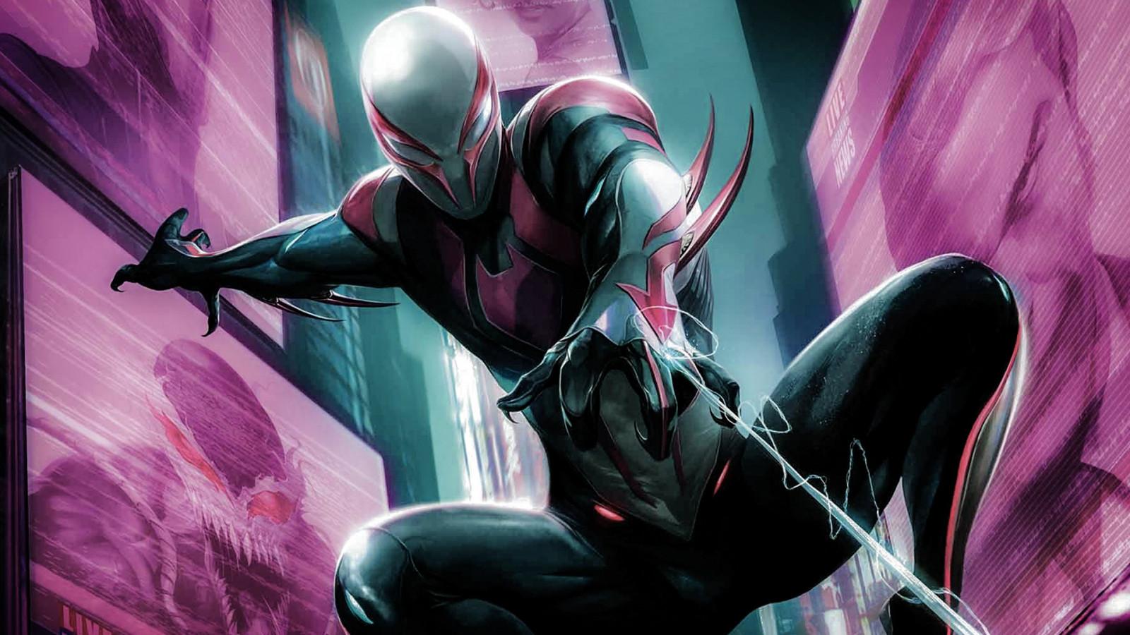 Spider Man 2099 Wallpaper On Wallpaperget Com